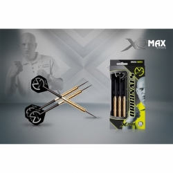 Šipky Steel XQMax Darts Michael van Gerwen Originals Brass 20 g